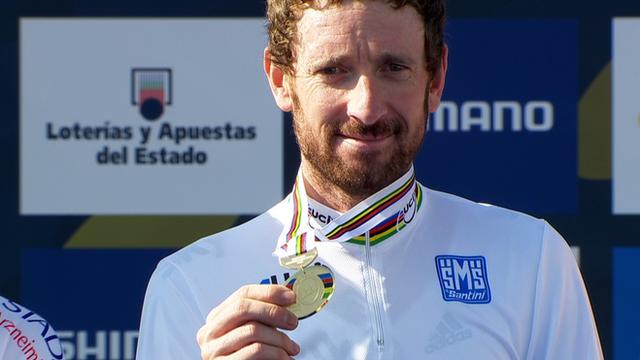 Sir Bradley Wiggins wins world time trial title