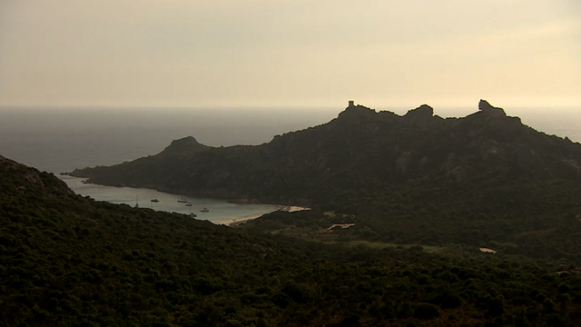 Corsica, starting point of the 2013 Tour de France