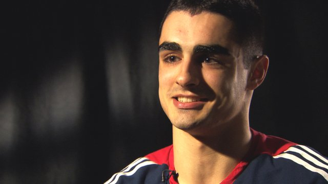 Kian Emadi discusses taking Sir Chris Hoy's place