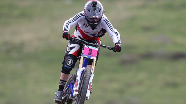 British mountain biker Manon Carpenter