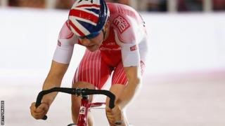 British cyclist Mark Stewart