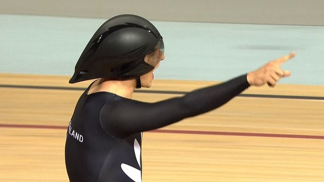 New Zealand win gold in the team pursuit final