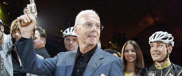 Franz Beckenbauer at the Munich Six