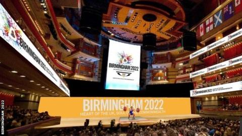 Weightlifting would be held at Birmingham's Symphony Hall under the city's plans