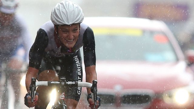 Armitstead crosses the line for silver