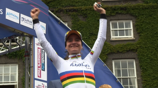 Marianne Vos victorious at 2014 Women's Tour of Britain