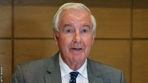 World Anti-Doping Agency president Sir Craig Reedie