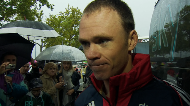 Britain's Chris Froome