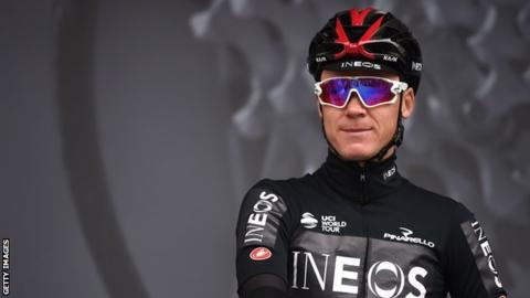 Chris Froome will make his return to competitive cycling at the UAE Tour this weekend
