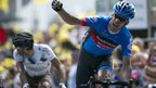 David Millar wins stage 12 of the 2012 Tour de France