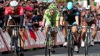 Germany's Marcel Kittel shouts with joy in Dublin as he produces an astonishing sprint to clinch his second successive Giro stage win