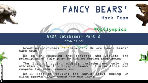 Fancy Bears homepage