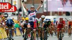 Andre Greipel wins stage five
