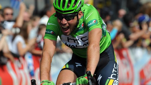 Cyclist Mark Cavendish