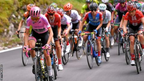 Annemiek van Vleuten at the Giro Rosa