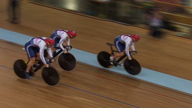 Great Britain's men's sprint team