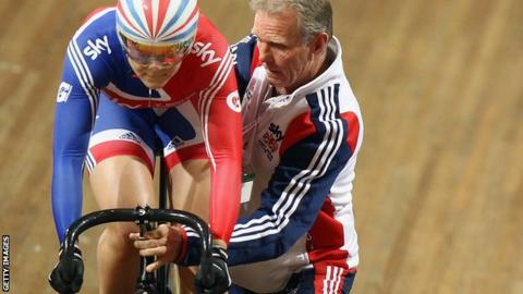 Jess Varnish and Shane Sutton