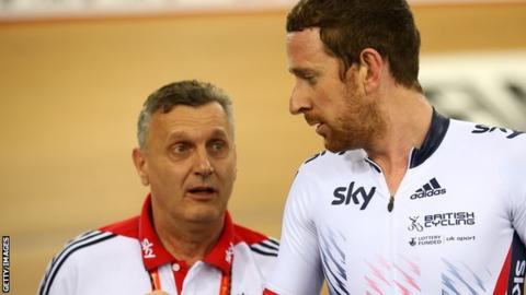 Heiko Salzwedel and Sir Bradley Wiggins