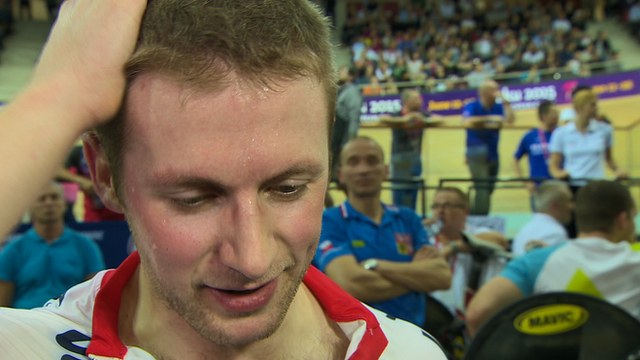 World Track Championships 2015: Sprinter Jason Kenny