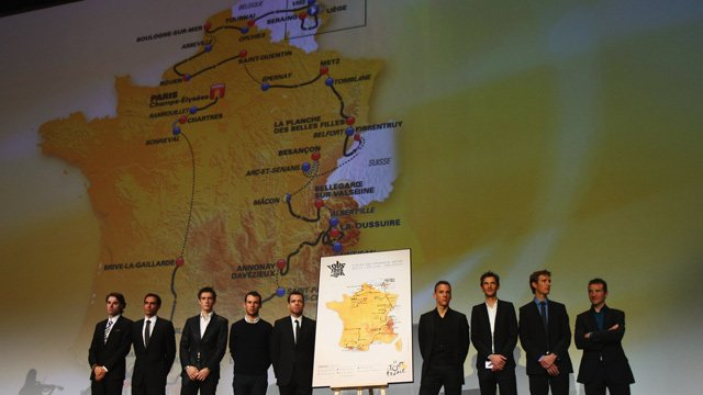 Tour de France 2012 route announcement