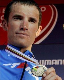 Russian cyclist Alexandr Kolobnev