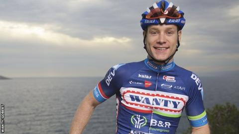 Wanty-Gobert rider Antoine Demoitie