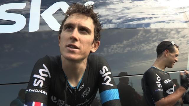 Tour de France: Sky couldn't ask for more - Geraint Thomas