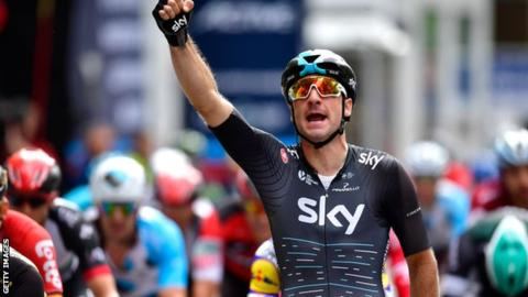 Elia Viviani has now won five stages at the Tour of Britain during his career