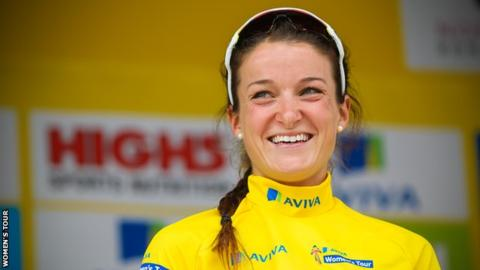 World road race champion Armitstead won an Olympic silver at London in 2012 and Commonwealth gold in 2014
