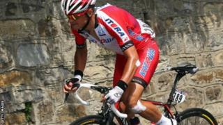 Eduard Vorganov of Team Katusha