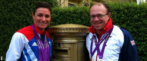 Dame Sarah Storey is married to former Paralympic gold medallist Barney Storey