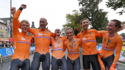 Netherlands cycling team