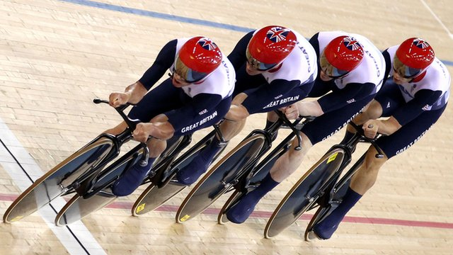 Great Britain's men's team pursuit