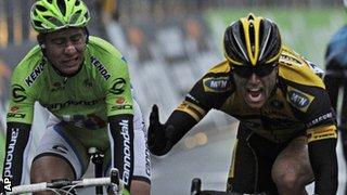 Gerald Ciolek wins Milan to San Remo