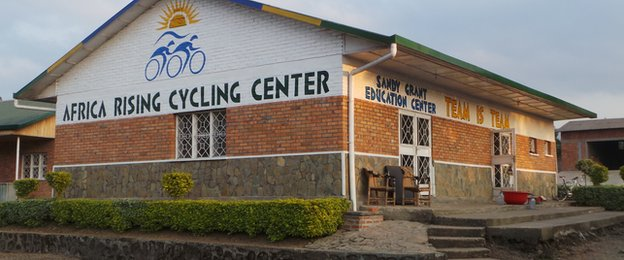 The new Africa Rising Cycling Centre in Musanze in the north of the country is the home of Team Rwanda