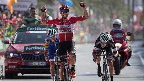 Tomasz Marczynski claims stage six victory