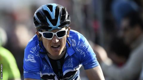 Geraint Thomas won the Tour of The Algarve in 2016