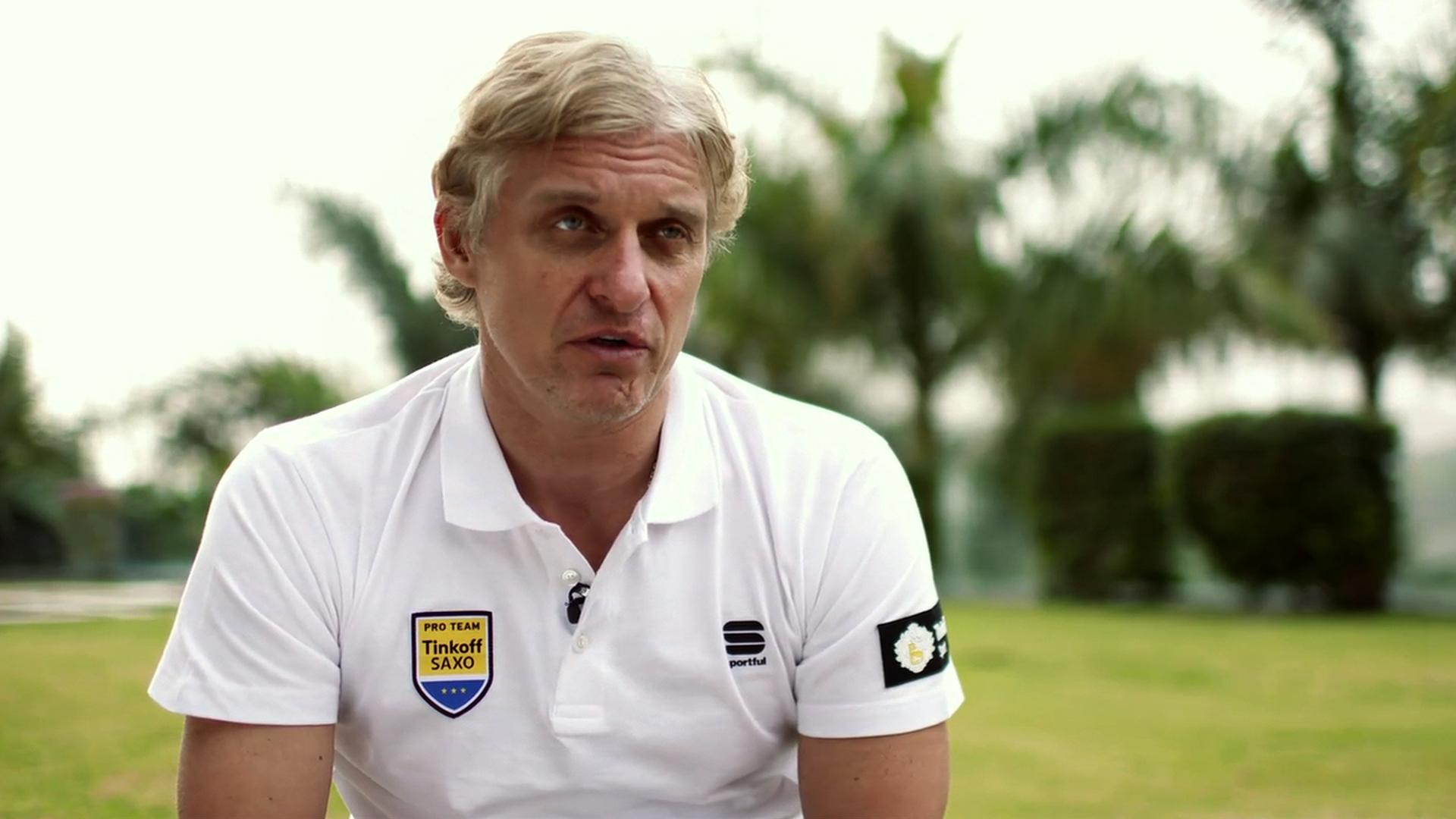 Saxo-Tinkoff team owner Oleg Tinkoff