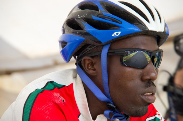 Burundian cyclist