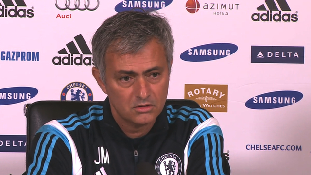 Mourinho says Steven Gerrard's slip gave Man City Premier League
