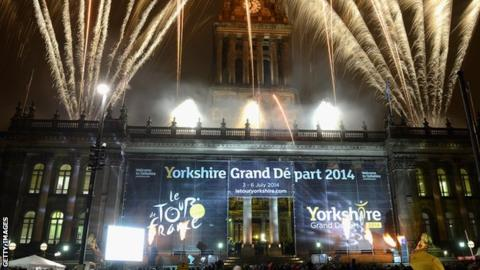 Leeds hosted the Grand Depart in 2014