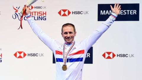 Olympic champion Jason Kenny