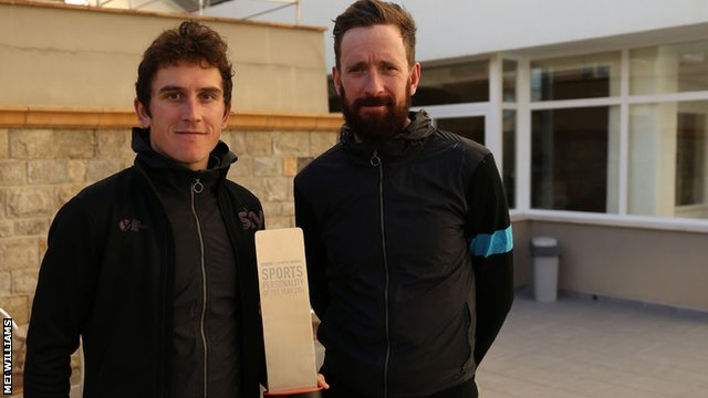 Geraint Thomas and Sir Bradley Wiggins
