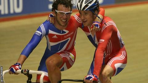 Mark Cavendish and Sir Bradley Wiggins
