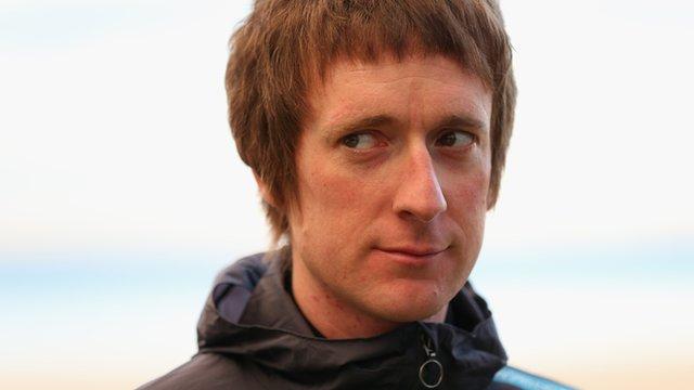 2012 Tour de France winner Sir Bradley Wiggins