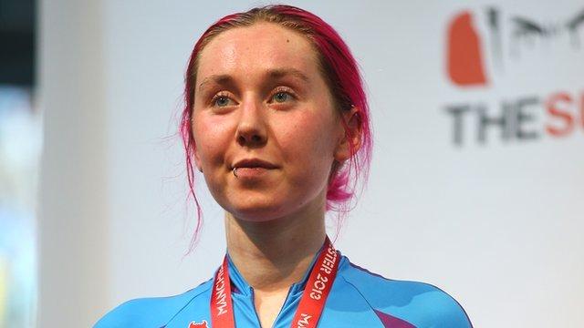 Track cyclist Katie Archibald