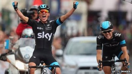 Peter Kennaugh said it was a special result to win the national road race