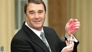 Sir Nigel Mansell