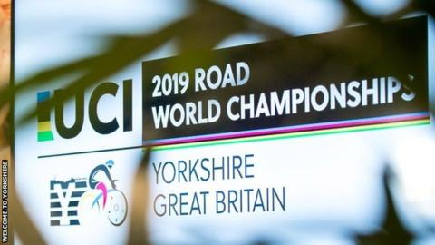Yorkshire UCI Road World Championships logo
