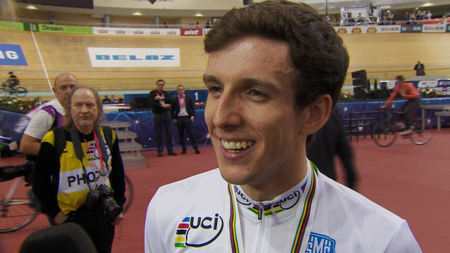 World points race champion Simon Yates